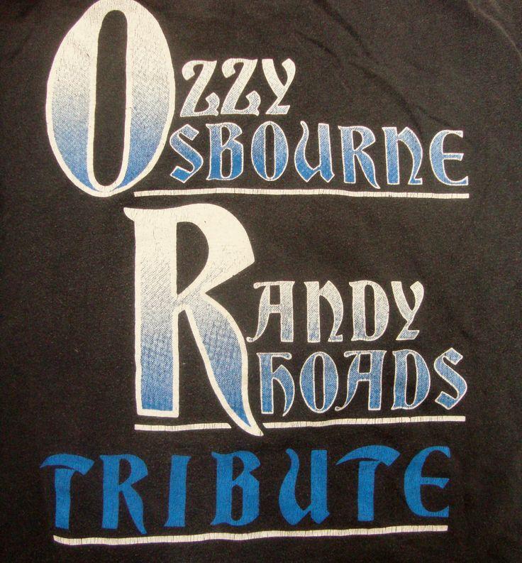 Ozzy Osbourne Randy Rhoads Tribute
