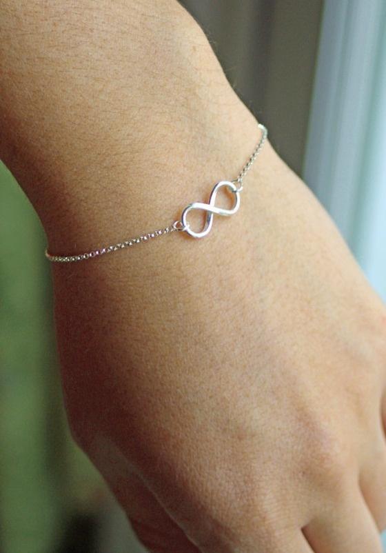 Infinity Bracelet $10.00.