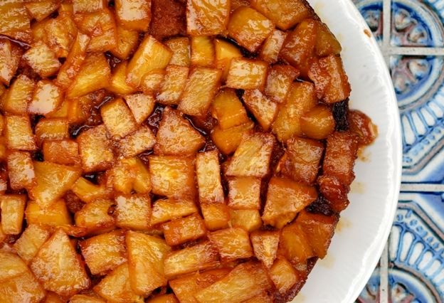 PINEAPPLE UPSIDE DOWN RUM CAKE | The Best Things Come to Those Who Wa ...