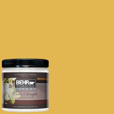 Behr Premium Plus Ultra Paint 8 Oz 360d 6 Yellow Gold