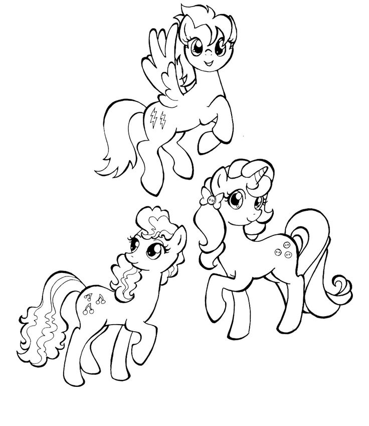 My Little Pony Derpy Hooves Coloring Pages : Doctor whooves coloring page pages