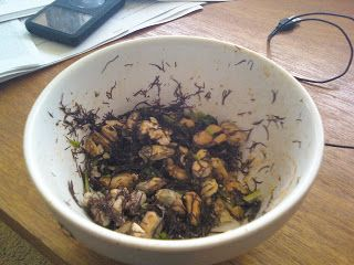 Mussel Mayonnaise Poke | Mussel Recipes | Pinterest