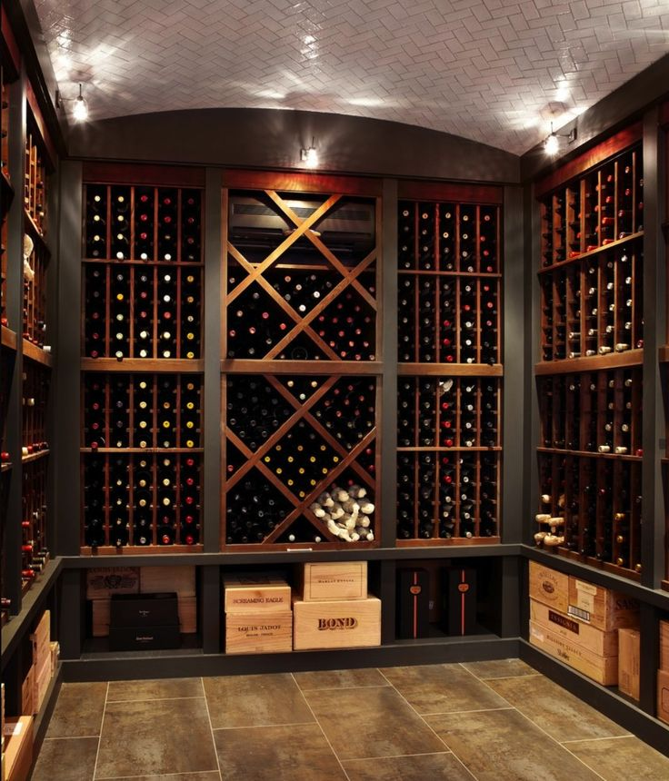 Wine room wine cellar pinterest for In home wine cellars