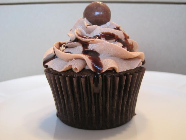 Chocolate Malt Cupcakes | Mary Liz's Kitchen | Pinterest