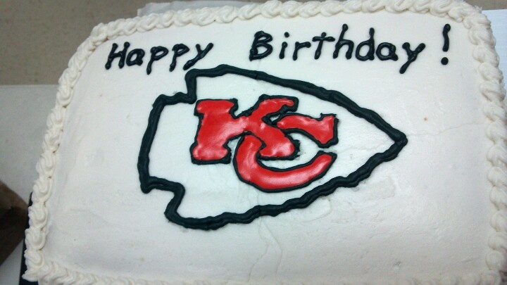 chiefs birthday cake