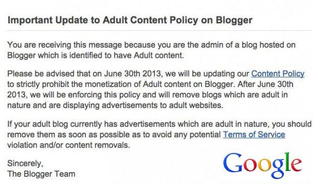 media google provokes adult bloggers