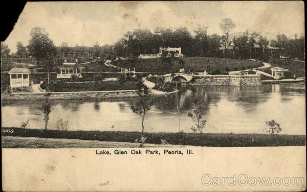 Lake glen oak park peoria illinois 6th move peoria il for Oak glen park