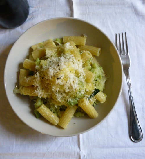pasta e broccoli--romanesco | Favorite Recipes | Pinterest