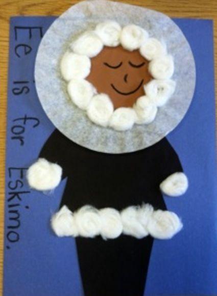 Eskimo ee craft classroom crafts pinterest