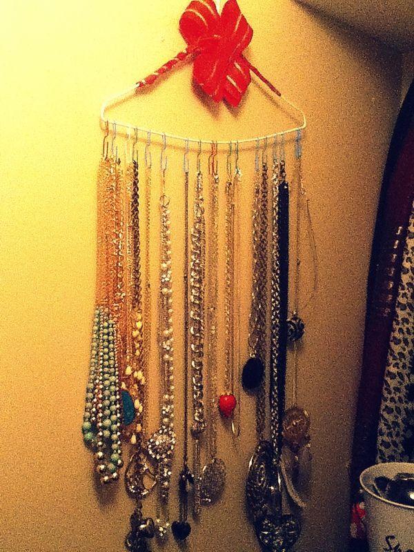 diy hanger necklace holder my own pinterest
