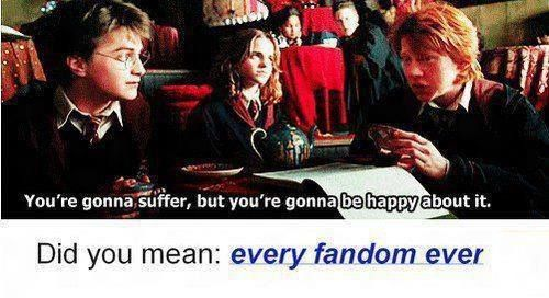 every fandom ever.