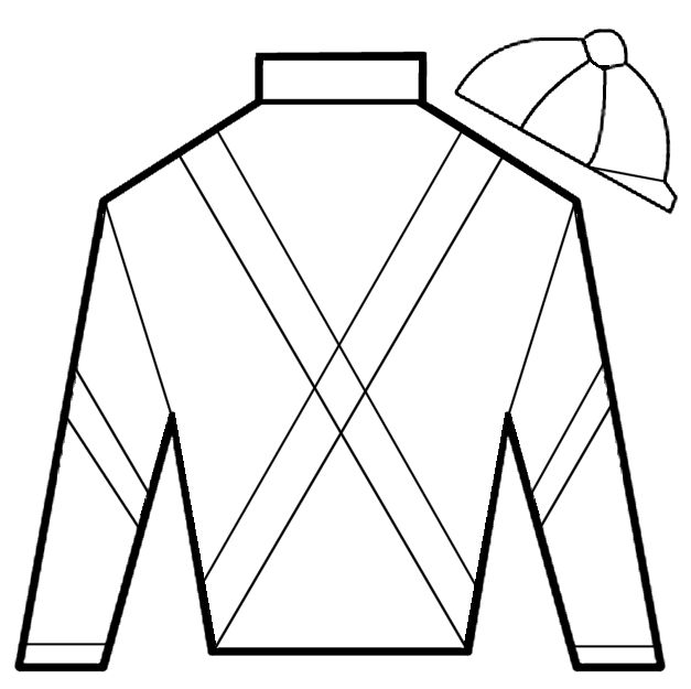 Coloring Book Pages Jockey Silks