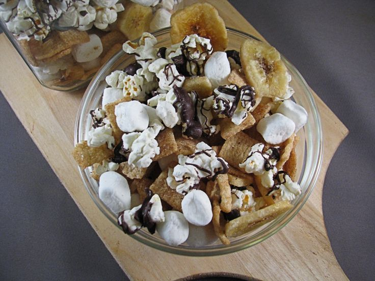 Banana S'more Popcorn Trail Mix. Samantha, this is everything you have ...