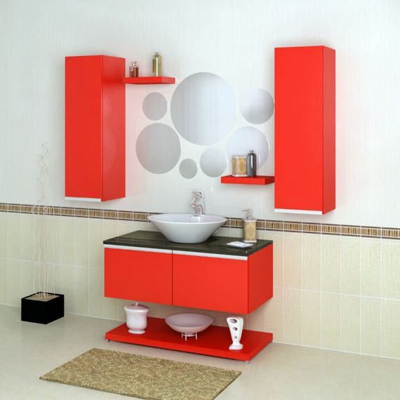 Love Black White And Red Bathrooms POWDER ROOM PLEASE