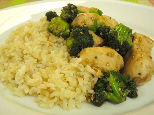 Lighter Sesame Chicken | Food and Drink | Pinterest