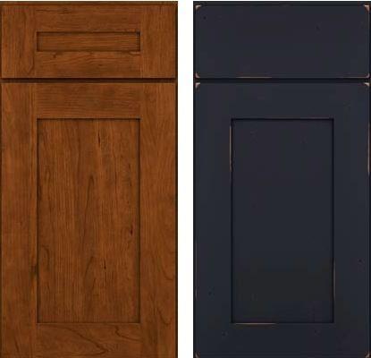 Cherry Black Kraftmaid Cabinet Home Ideas Pinterest