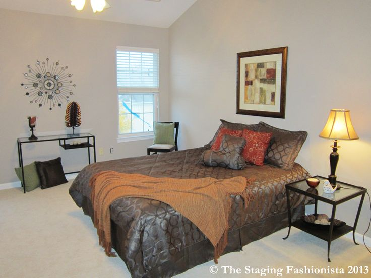 Staged master bedroom sold in 4 days home staging ideas for Staging master bedroom
