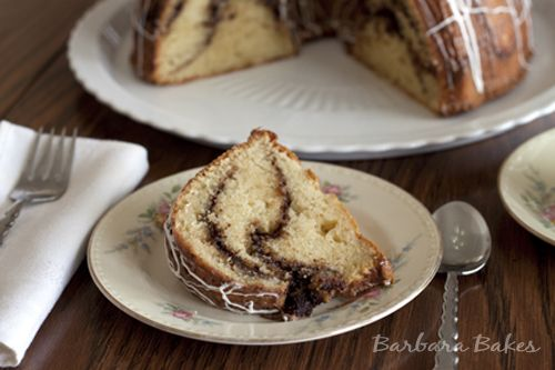 Cinnamon Coffee cake - I'll probably double the cinnamon/sugar layers ...