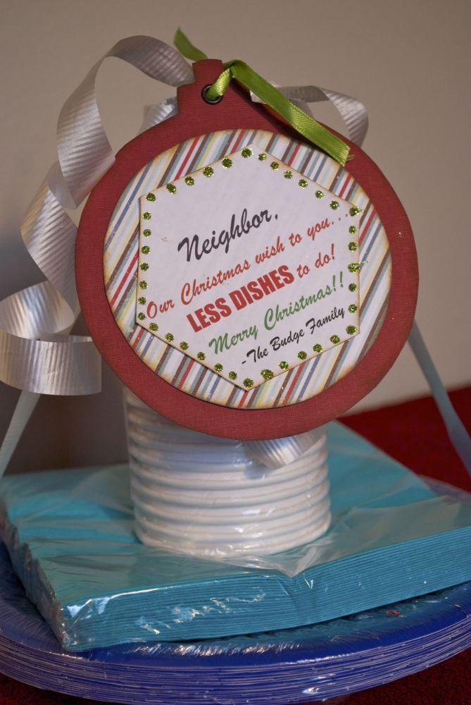 25 Neighbor Gift Ideas For Christmas Ho Ho Ho Pinterest