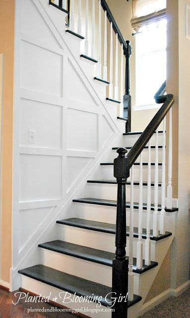 Beautiful diy staircase makeover decorating ideas for Diy staircase makeover