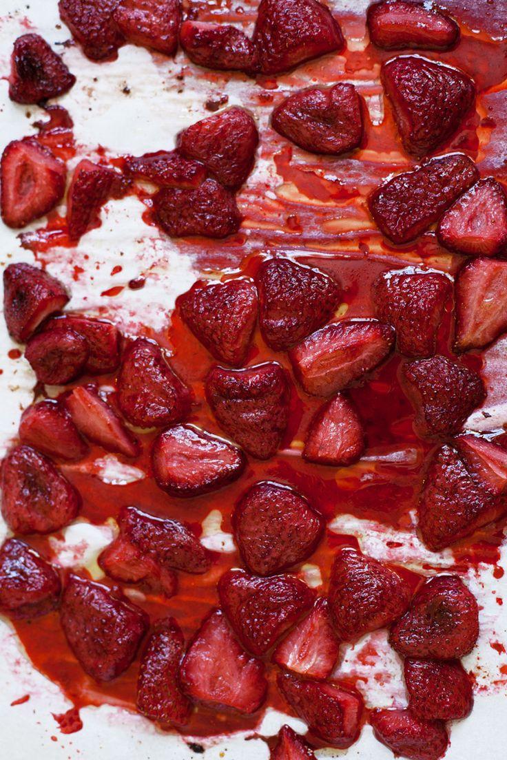 Roasted Strawberries | cuisine | Pinterest
