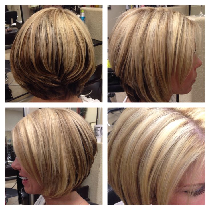 Growing Out A Stacked Bob | Short Hairstyle 2013