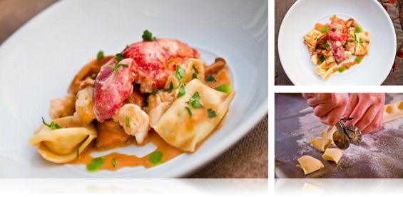 Parsnip Ravioli with Lobster & Chanterelle Mushrooms - MarxFoods.com ...
