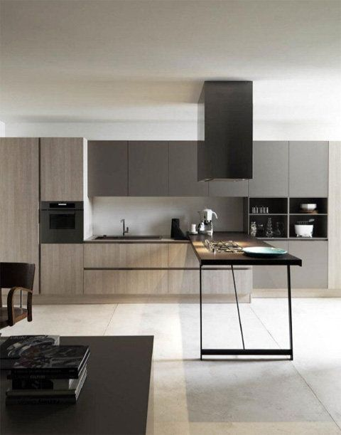 Modern Italian Kitchen Design C O L O N Y Surf Pinterest
