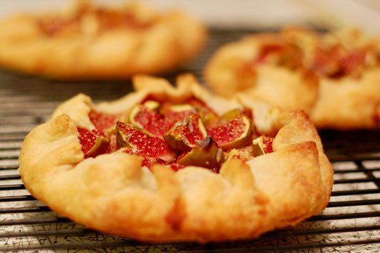 Fig season is coming up!! Fig and Lavender Goat Cheese Galettes