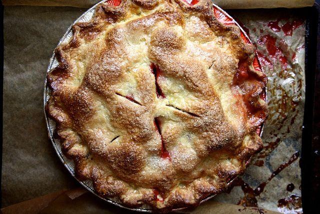 Gluten-Free Strawberry Ginger Pie. | PIES AND TARTS | Pinterest