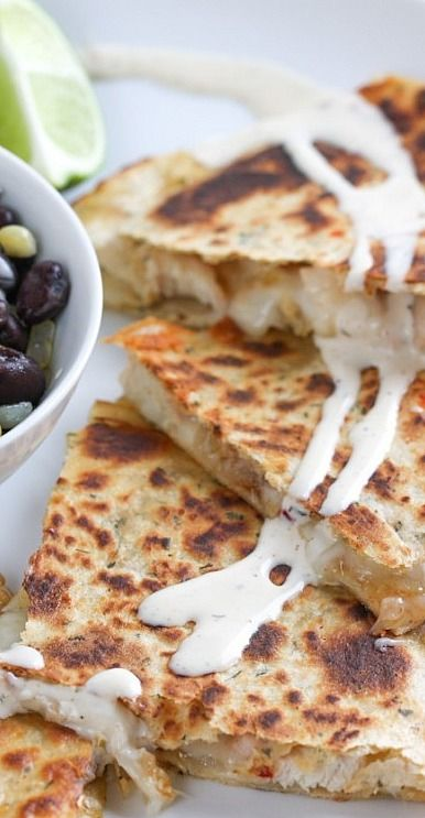 Smoky Chipotle Chicken Quesadillas | Recipe
