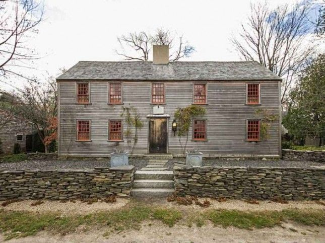 17th Century Byfield Ma Homes Pinterest