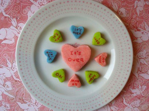 Cakespy: Homemade Conversation Hearts | Serious Eats : Recipes