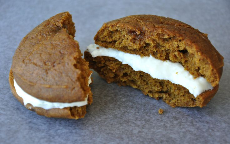 A taste of Maine...pumpkin whoopie pies. These would fit great!