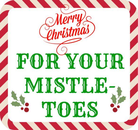 foto de Mistle Toes Christmas Pinterest