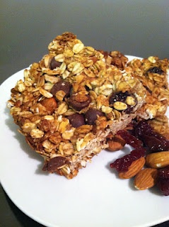 Cherry Almond Granola Bars | Recipes | Pinterest