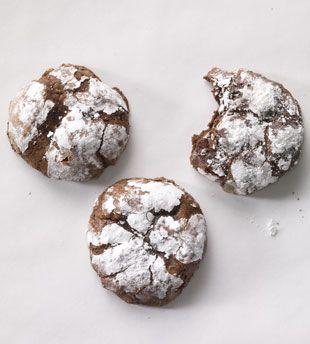 Deep Dark Chocolate Cookies: Quick Recipes Recipe: bonappetit.com