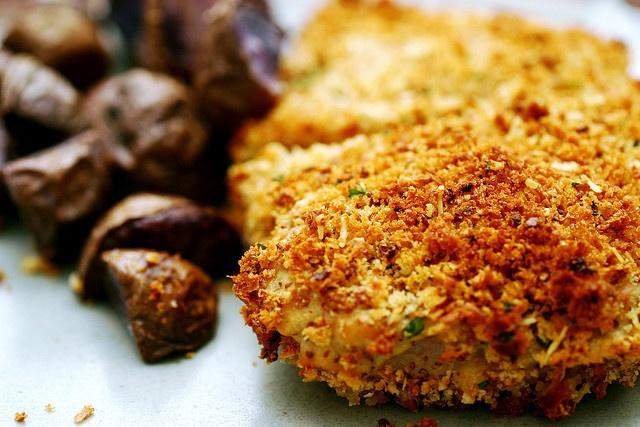 crunchy baked pork chops | Pork | Ham | Pinterest