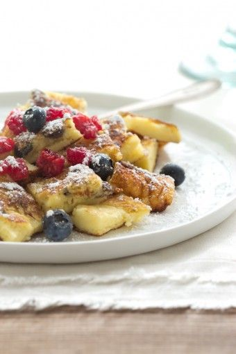 Kaiserschmarrn (Austrian Pancakes) Made this morning. Seriously divine ...