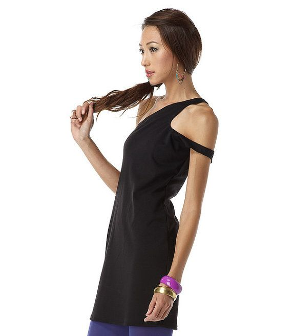 Womens Dress Clothing Side Curve Roma Black by lamixx on Etsy, $46.00