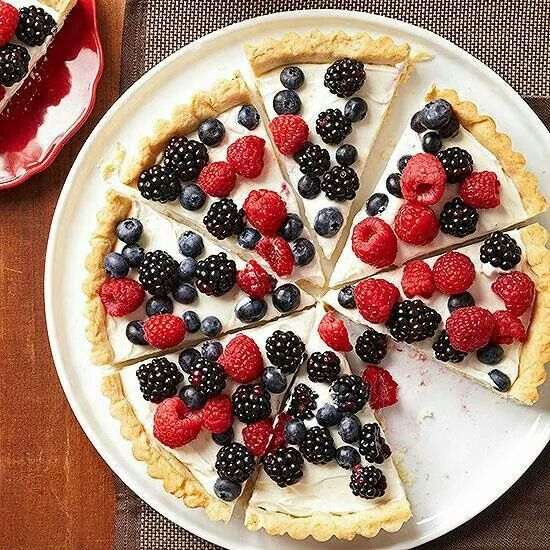 Berry tart | Decadence | Pinterest