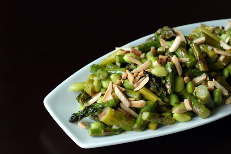Roasted Asparagus With Miso Lime Dressing Recipes — Dishmaps