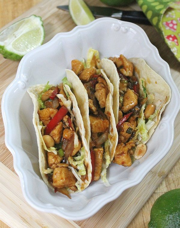 More like this: chicken tacos , szechuan chicken and taco .