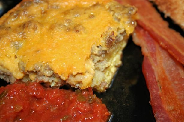 Easy Breakfast Casserole from Food.com: A co-worker brought this to a ...