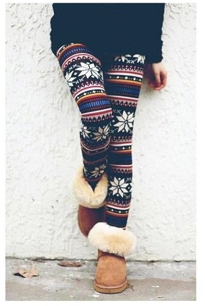cute tribal leggings