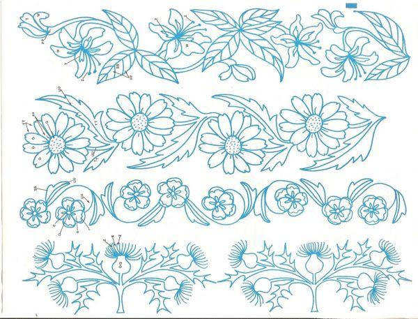 Hand Embroidery Patterns On Pinterest | Makaroka.com