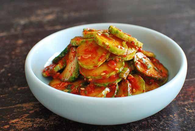 Oi Muchim (Korean-Style Cucumber Salad) - Korean Bapsang