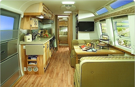 Modern RV Interior Needs A Little Work Small Spaces