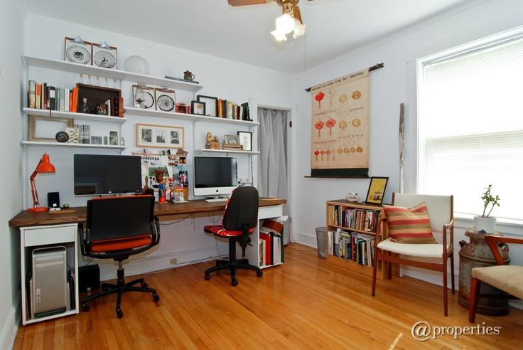 Double Desk Home Office / Desk Pinterest