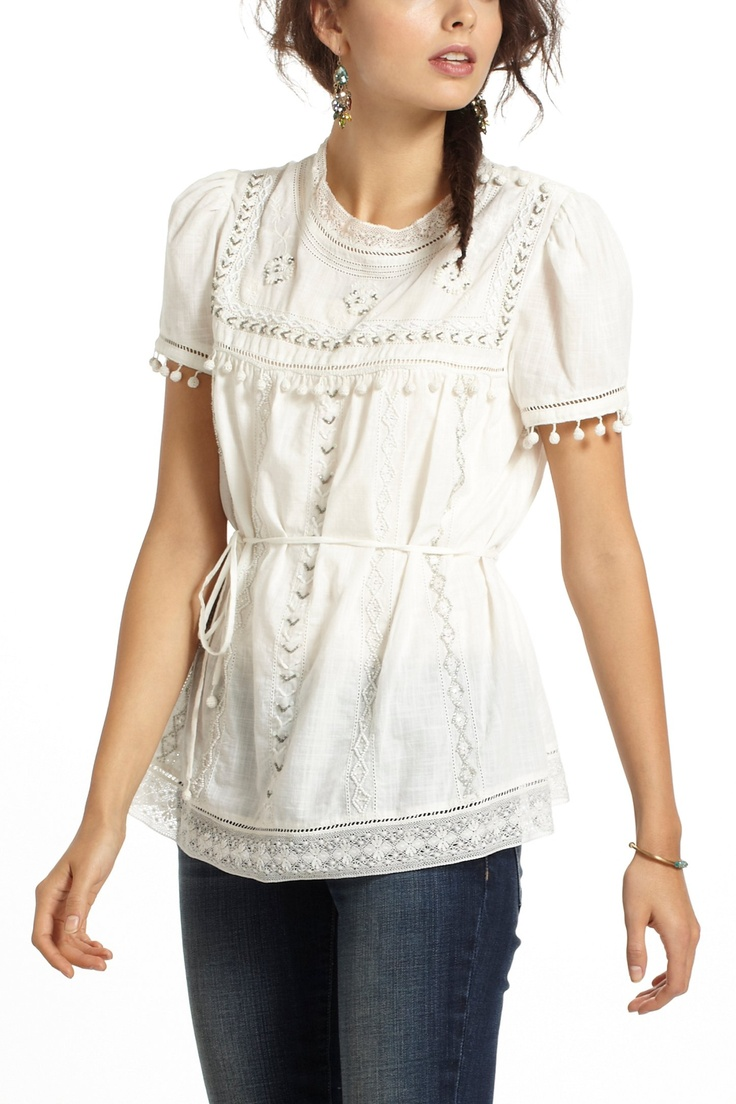 Anthropologie Peasant Blouse 65